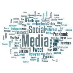 Pressemeddelelser sendes automatisk til Facebook, LinkedIn og Twitter